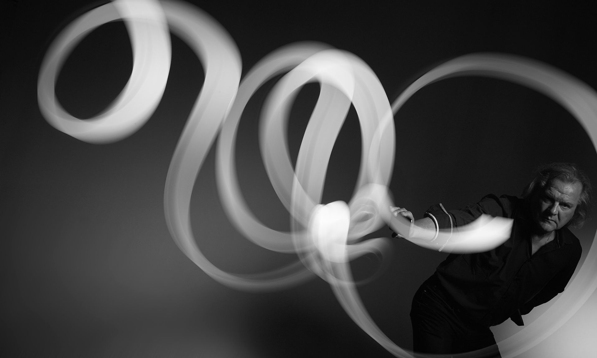 Ruud Koenders Portret Lightpainting